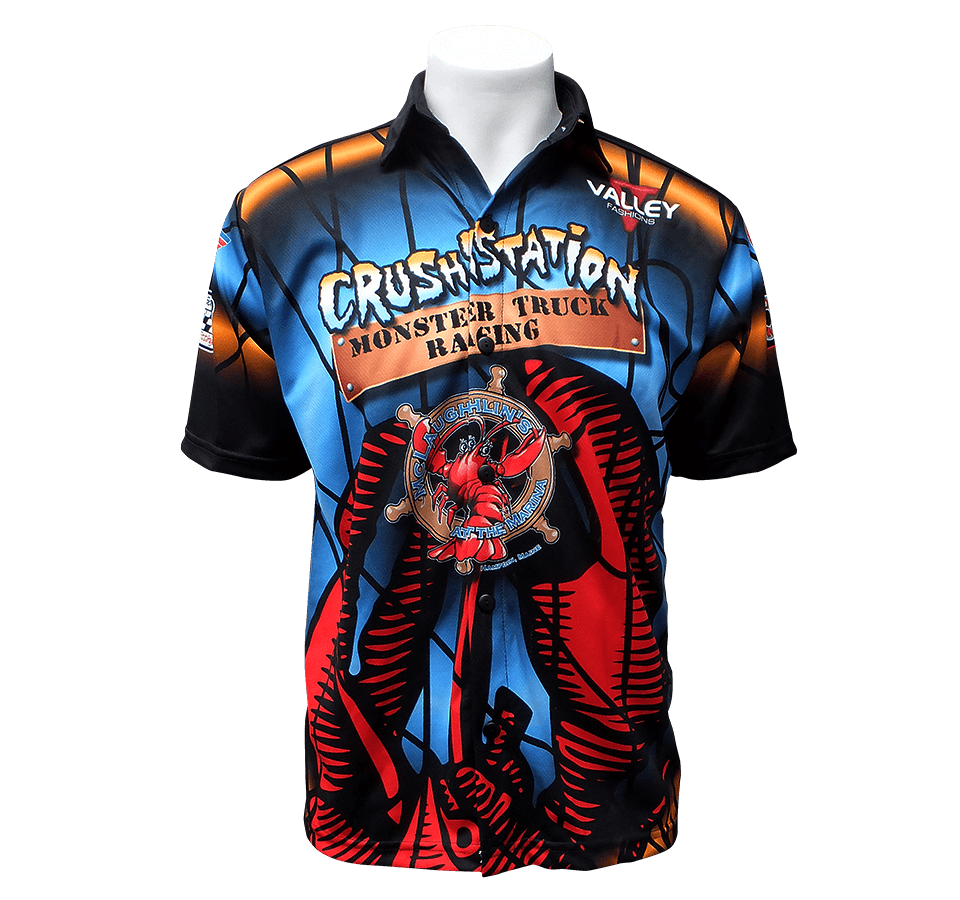 Crushstation Sublimated Crew Shirt