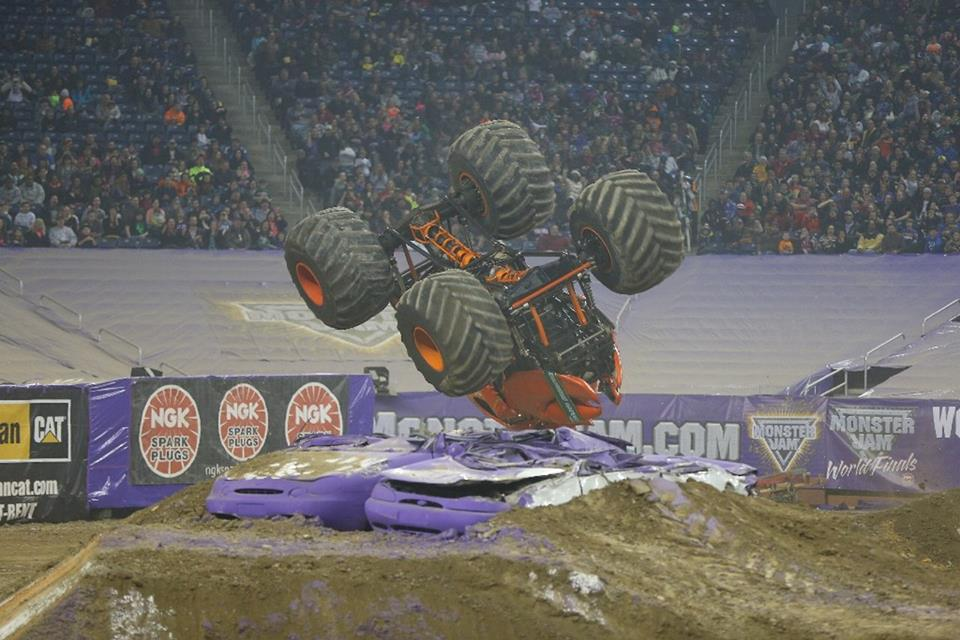 Crushstation Monster Truck | Detroit Monster Jam 2015